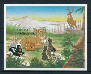 [22452] Grenada Grenadines 1988 Disney Bambi  MNH
