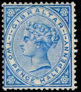 GIBRALTAR SG11, 2½d Blue, LH MINT. Cat £85.