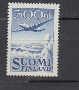 J25862  jlstamps 1950 finland set of 1 mh #c3 airplane