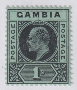 GAMBIA 59 MINT  HINGED OG *  NO FAULTS EXTRA FINE