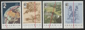 GB 1984 The 100th Anniversary of the Greenwich Meridian MNH SG#1254-1257 S1079