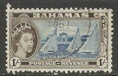 BAHAMAS 168 VFU K890-1