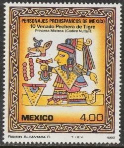 MEXICO 1287, Pre-Hispanic Art. MINT, NH. F-VF.
