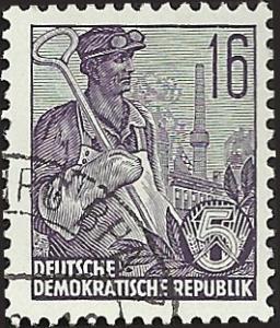 GERMANY - DDR - 194 - Used - SCV-0.25