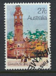 Australia SG 854 Used PO Bureau Cancel