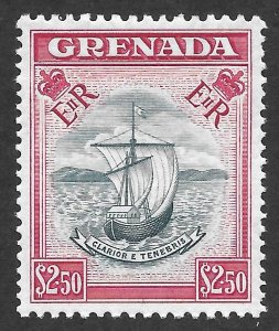 Doyle's_Stamps: MNH Well Centered Grenada 1959 $2.50 Scott #183**