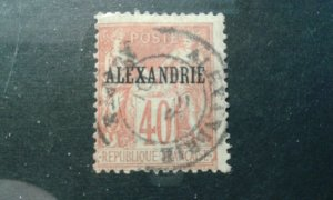 French - Alexandria #11 used e1912.5855
