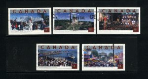 Canada #2019-23  used VF 2004 PD