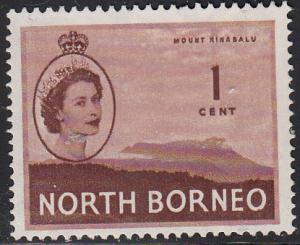 North Borneo #261 Used