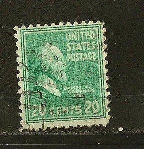 USA 825 Garfield Used