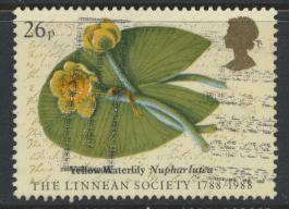 Great Britain SG 1381 -  Used - Linnean Society