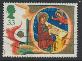 Great Britain SG 1585    Used  - Christmas