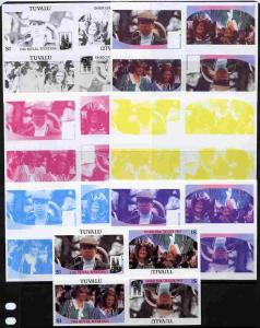 Tuvalu 1986 Royal Wedding (Andrew & Fergie) $1 tete-b...