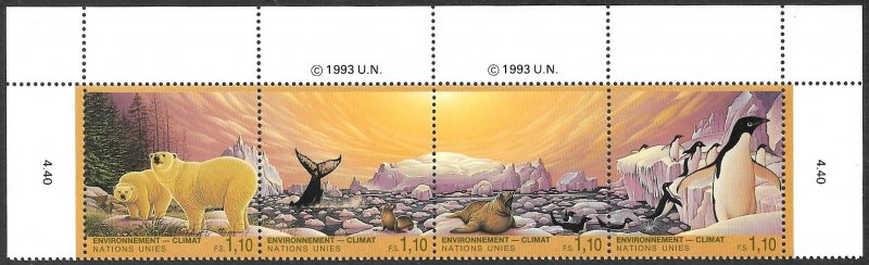 United Nations UN Geneva 1993 Scott # 243a Mint NH. Ships Free With Another Item