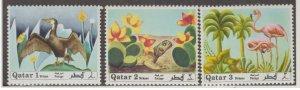 Qatar Scott #238-239-240 Stamps - Mint NH Set