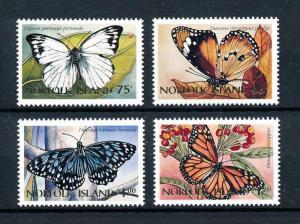 [90944] Norfolk Island 1997 Insects Butterflies  MNH