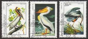 Guinea-Bissau #C50-52 CTO birds