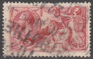Great Britain #180 F-VF Used  CV  $125.00  (S6760)