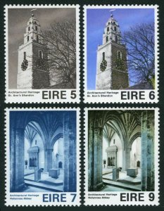 Ireland 376-379,MNH.Michel 327-330.Architectural Heritage Year,1976.Tower,Church