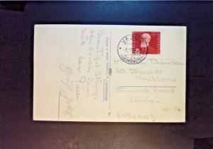 Liechtenstein 1949 Postcard to England - Z1188