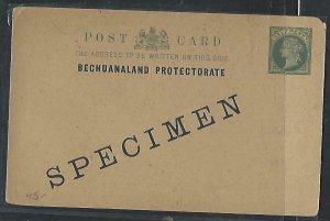 BECHUANALAND  (PP0310B)  QV 1/2D PSC SPECIMEN