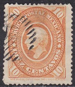 Mexico 171  Hidalgo 1885