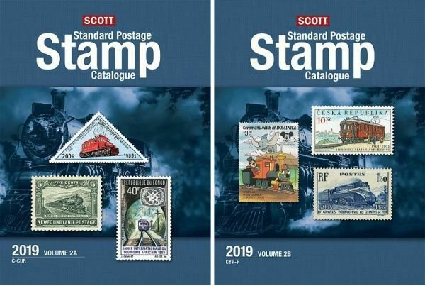 2019 Scott Standard Postage Stamp Catalogue, Volume 2 (Countries C-F)