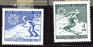 Chile #Mint Collection of Stamps, Mixed Condition