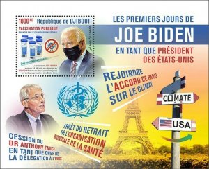 Stamps of DJIBOUTI 2021- JOE BIDEN