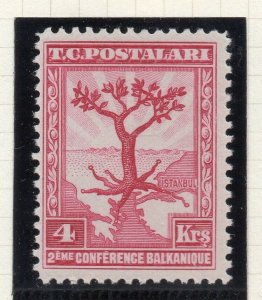 Turkey 1931 Early Issue Fine Mint Hinged 4k. NW-10462