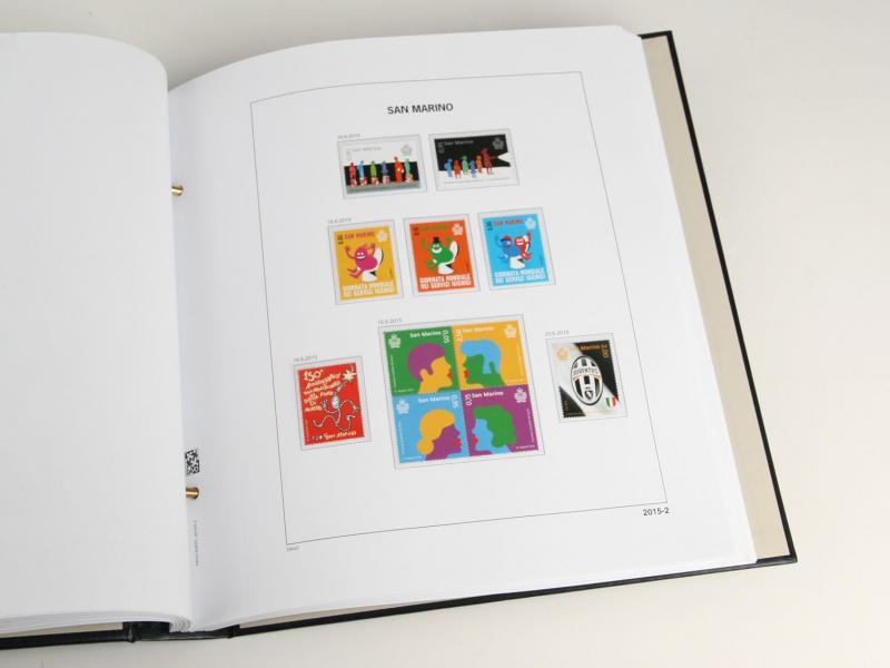 DAVO Luxe Hingless Album San Marino III 2000-2011