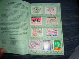 LIBERIA COLLECTION IN APPROVAL BOOK, MINT/USED