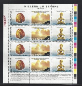 STAMP STATION PERTH Philippines #2661 Artifacts MNH Full Sheet of 12 Stamps