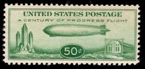 US Stamp #C18 50c Graf Zepellin MINT NH SCV $75