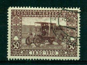 Bosnia & Herzegovina 1910 #58 U SCV(2020)=$7.50