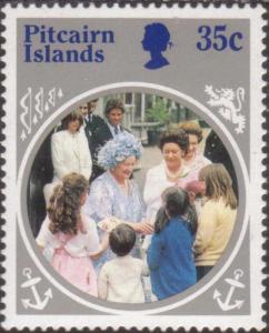 Pitcairn Islands 1985 SG269 35c Queen Mother MNH