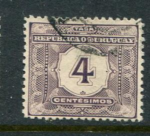 Uruguay #J4 Used - penny auction