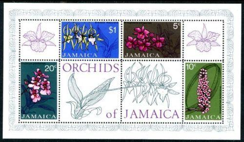 Jamaica 378a, MNH, Fwowers Orchids. s8197
