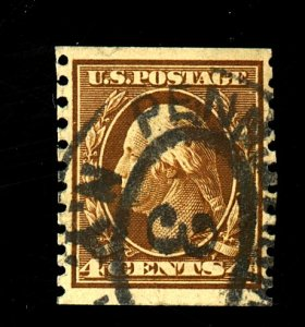 US #446 Used F-VF Cat$150
