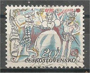 CZECHOSLOVAKIA, 1976, used 20h, Radio Symphony Scott 2065