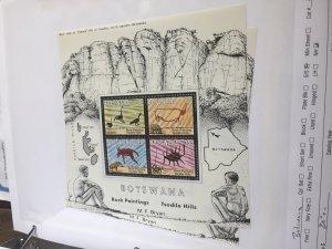 Souvenir Sheet Botswana #139a
