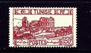 Tunisia 113C Used 1945 issue
