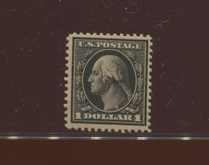 342 Washington $1 Perf 12 Mint Stamp  with PF Cert (Stock 342 PF2)