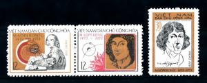 [93706] Vietnam North 1973 Copernicus Astronomy Space  MNH