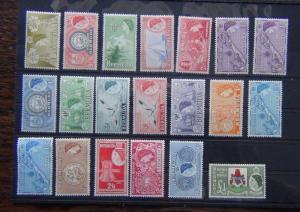 Bermuda 1953 - 62 set complete to £1 LMM SG135 - SG150 Cat £130