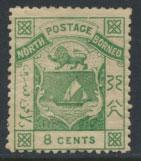 North Borneo  SG 12   MH perf 14 please see scans & details
