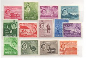 Mauritius 251-63 Mint Never Hinged
