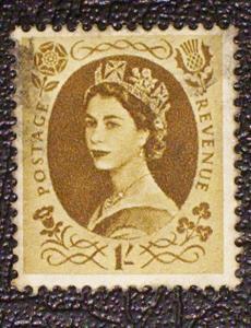 Great Britain Scott #367 used