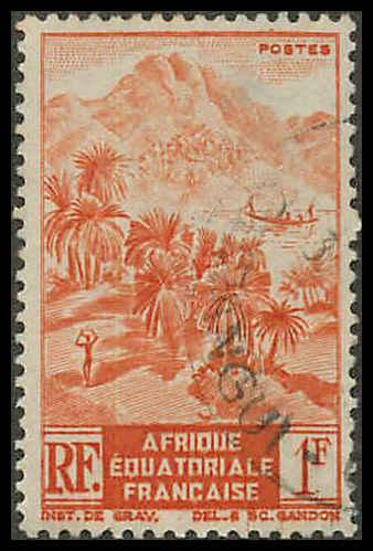 French Equatorial Africa 172 Used VF