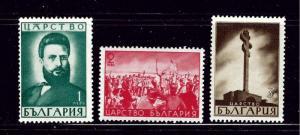 Bulgaria 386-88 MH 1941 set